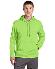 Sport-Tek® F244 Men Sportwick Fleece Hooded Pullover at GotApparel