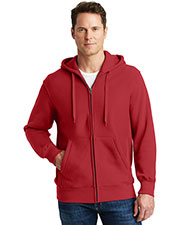 Sport-Tek® F282 Men Super Heavyweight Full-Zip Hooded Sweatshirt at GotApparel