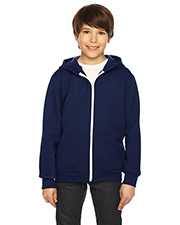 Custom Embroidered American Apparel F297W Youth 8.2 oz Flex Fleece Zip Hoodie at GotApparel