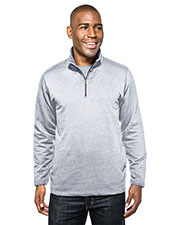 Tri-Mountain F581 Men Alta 1/4-Zip Pullover Sweatshirt at GotApparel