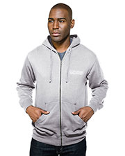 Tri-Mountain F590 Men Chance Hooded Full-Zip Sweatshirt at GotApparel