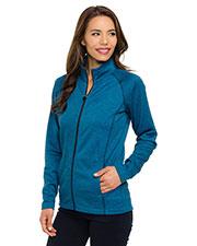 Tri-Mountain FL7370 Women 100% polyester full zip jacket at GotApparel