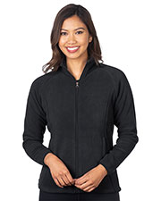Tri-Mountain FL7688 Women Heavyweight Micro Fleece Jacket at GotApparel