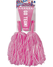 Halloween Costumes FM68681 Unisex Pom Set Pink at GotApparel