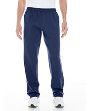 Gildan G183 Men Heavy Blend™ 8 oz. Open-Bottom Sweatpants with Pockets at GotApparel