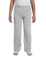 Gildan G184B Boys Heavy Blend 8 Oz. 50/50 Open-Bottom Sweatpants at GotApparel