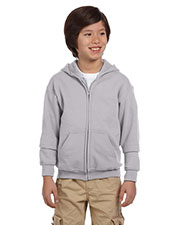 Gildan G186B Boys Heavy Blend 8 Oz. 50/50 Full-Zip Hood at GotApparel