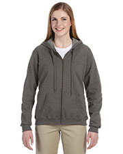 Gildan G187FL Women Heavy Blend 8 Oz. Vintage Classic Full-Zip Hood at GotApparel