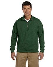 Gildan G188 Adult Heavy Blend 8 Oz. Vintage Classic Quarter-Zip Cadet Collar Sweatshirt at GotApparel