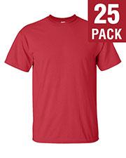 Gildan G200T Unisex Ultra Cotton Tall 6 Oz. Short-Sleeve T-Shirt 25-Pack at GotApparel