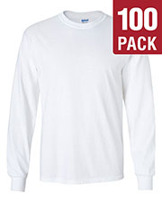 Gildan G240 Men Ultra Cotton 6 Oz. Long-Sleeve T-Shirt 100-Pack at GotApparel