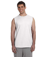 Gildan G270 Men Ultra Cotton 6 oz. Sleeveless T-Shirt at GotApparel