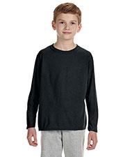 Gildan G424B Boys Performance 4.5 Oz. Long-Sleeve T-Shirt at GotApparel