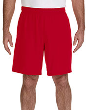 Gildan G44S30 Men Performance 5.5 oz. Nine Inch Short with Pocket at GotApparel