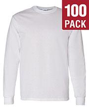 Gildan G540 Men Heavy Cotton 5.3 Oz. Long-Sleeve T-Shirt 100-Pack at GotApparel