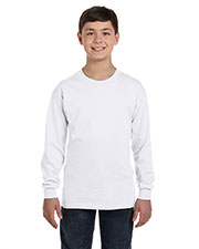 Gildan G540B Boys Heavy Cotton Long-Sleeve T-Shirt at GotApparel