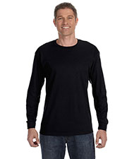 Gildan G540 Men Heavy Cotton 5.3 oz. Long-Sleeve T-Shirt at GotApparel