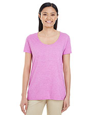 Gildan G6455L Women Softstyle® 4.5 oz. Deep Scoop T-Shirt at GotApparel