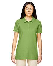Gildan G828L Women Premium Cotton  6.5 Oz. Double Pique Sport-Shirt at GotApparel