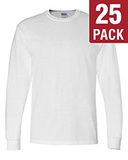 Gildan G840 Men Dryblend 5.6 Oz. 50/50 Long-Sleeve T-Shirt 25-Pack at GotApparel