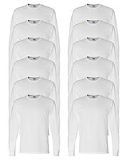 Gildan G840 Men Dryblend 5.6 Oz. 50/50 Long-Sleeve T-Shirt 12-Pack at GotApparel