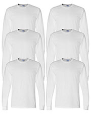 Gildan G840 Men Dryblend 5.6 Oz. 50/50 Long-Sleeve T-Shirt 6-Pack at GotApparel