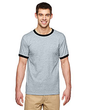 Gildan G860 Adult DryBlend 5.6 oz. Ringer T-Shirt at GotApparel