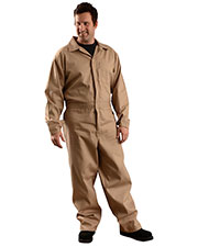 OccuNomix G906 Men Value Cotton Flame Resistant HCR 1 Coverall at GotApparel