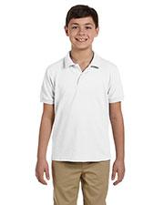 Gildan G948B Boys DryBlend 6.5 oz. Pique Sport Shirt at GotApparel