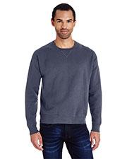 Hanes GDH400 Unisex Garment-Dyed Crewneck Sweatshirt at GotApparel