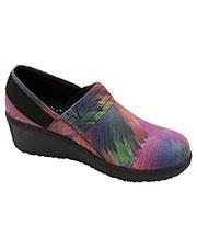 Infinity Footwear GLIDE Women Leather Work Wedge at GotApparel