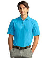 Greg Norman GNS8K463 Men Play Dry Foreward Series Polo at GotApparel