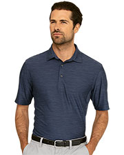 Greg Norman GNS9K477 Men Play Dry Heather Solid Polo at GotApparel