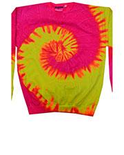 Tie-Dye H8150 Men 8.5 oz 80/20 crew neck fleece at GotApparel