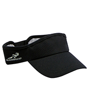 Custom Embroidered Headsweats HDS7714 Unisex Knit Velocity Visor at GotApparel