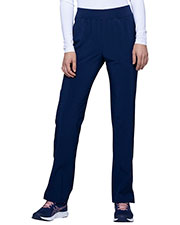 HeartSoul HS075P Women Mid Rise Tapered Leg Pant at GotApparel