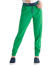 HS090P Rib Knit Waist Jogger at GotApparel