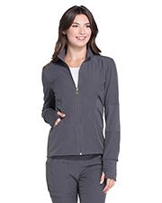 HeartSoul HS315 Women Zip Front Warm-Up Jacket at GotApparel