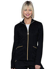 HeartSoul HS325 Women Zip Front Jacket at GotApparel