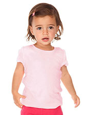 Infants Scalloped Scoop Neck Top at GotApparel
