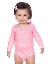 Infants Sunflower Long Sleeve Bodysuit at GotApparel