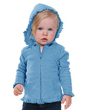 Infants Sunflower Long Sleeve Zip Hoodie at GotApparel