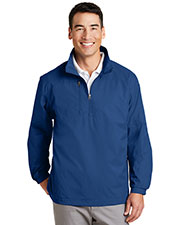 Port Authority J703 Men 1/2-Zip Wind Jacket at GotApparel