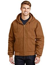 Cornerstone J763H Men Duck Cloth Hooded Work Jacket at GotApparel