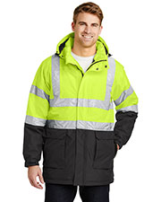 Port Authority J799S Men Ansi 107 Class 3 Safety Heavyweight Parka at GotApparel
