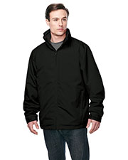 Tri-Mountain J8885 Men Maine 3-In-1 Zip Out Poly Fleece Shell Jacket at GotApparel