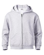 Soffe J9078 Boys Juvenile Classic Zip Hooded Sweatshirt at GotApparel