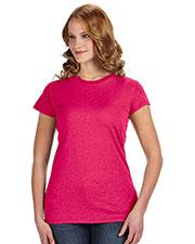 J America JA8138 Women Glitter T-Shirt at GotApparel