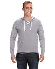 J America JA8231 Men Sport Lace Jersey Hood at GotApparel