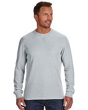 J America JA8241 Men Vintage Zen Thermal Long-Sleeve T-Shirt at GotApparel